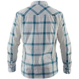 NRS Guide Camiseta Manga Larga Hombre, blanco/azul